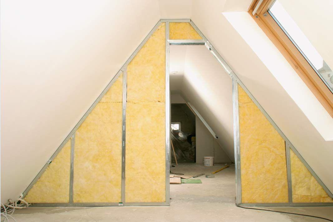 Auch ein Spitzboden kann, wenn er genug Höhe bietet, gut als ...