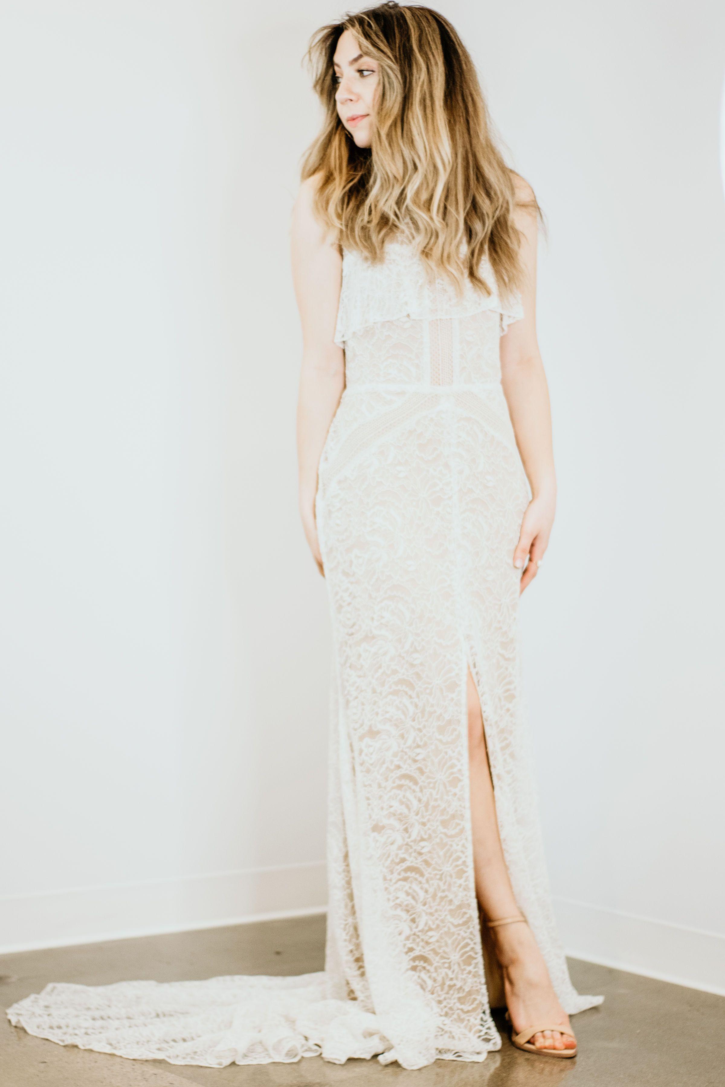 Carmel by Sarah Seven in 2020 Wedding dress shopping