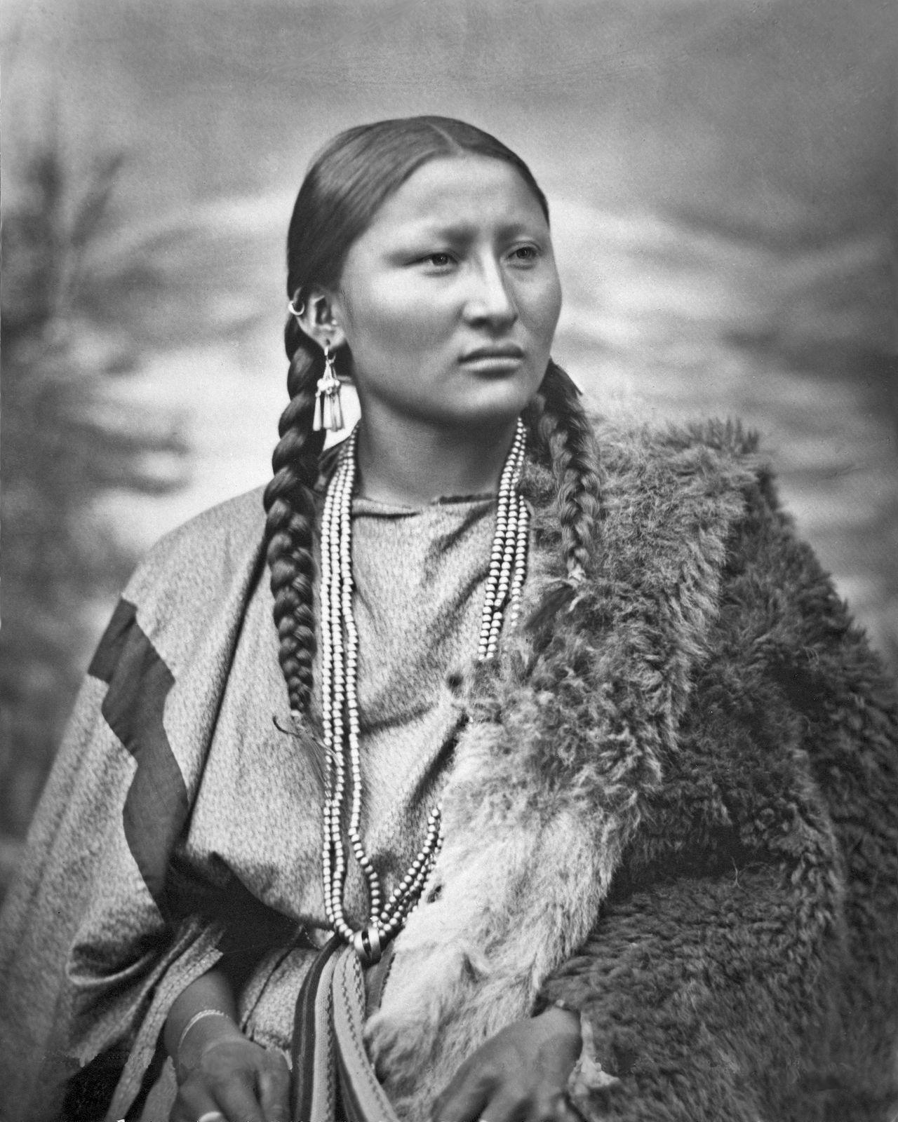 Cheyenne woman Pretty Nose restoredg