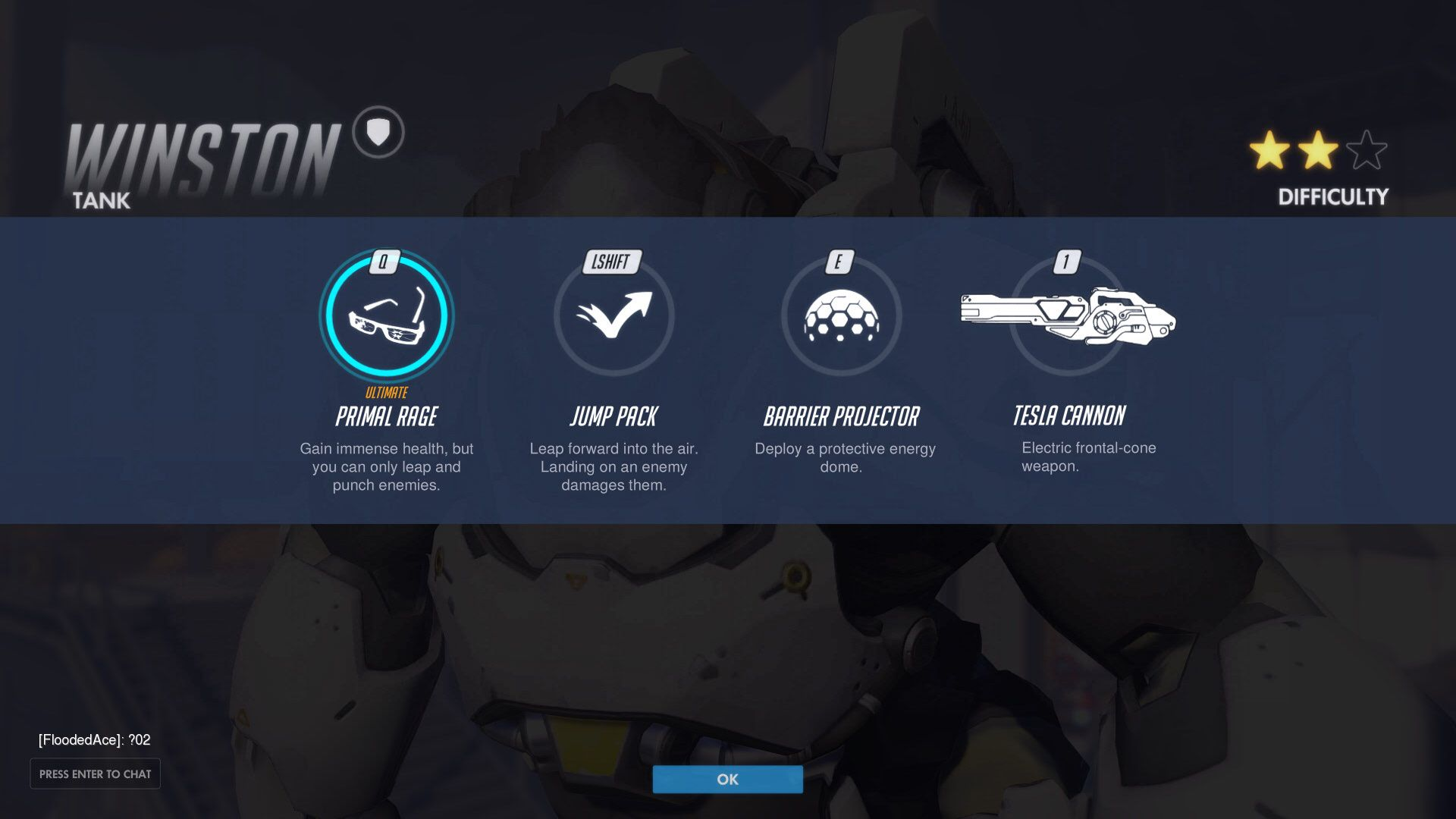 Winston's abilities  | Overwatch | Overwatch, Icon design