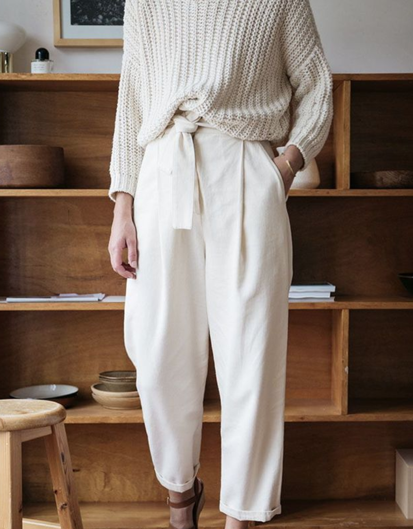 How to Wear Hight Waisted Pleated Pants, and Not Look Like A Goober #howtowear