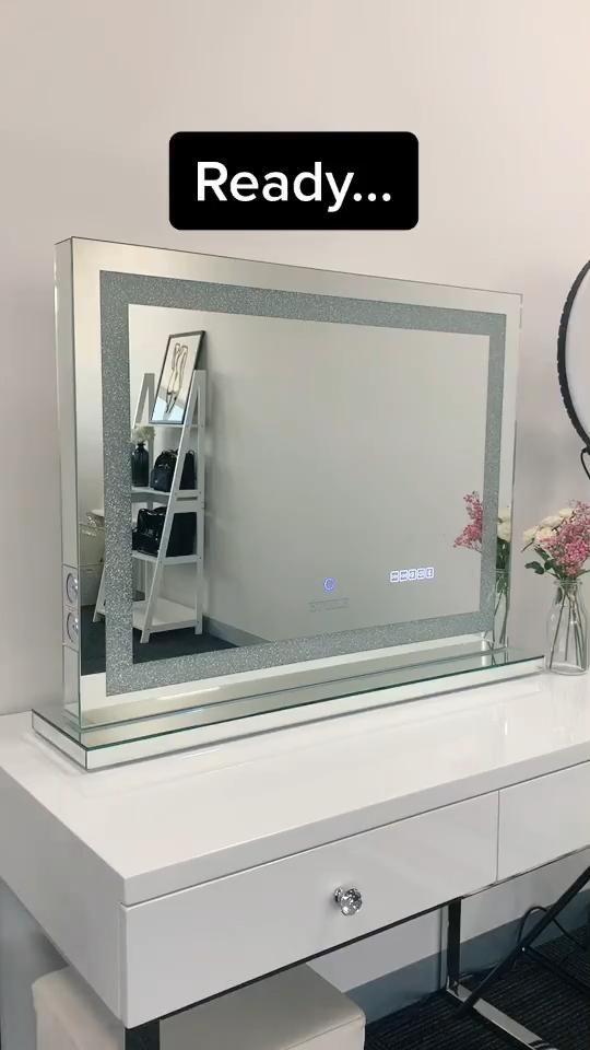 Photo of Crystal Vanity Mirror