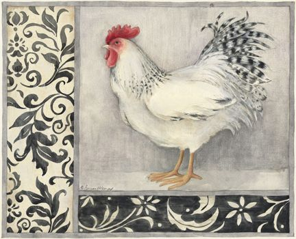 Pin by Karla Osborne on Susan WINGET | Chicken painting ...