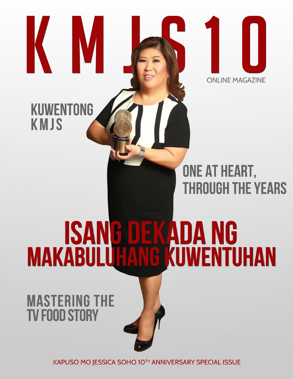 Kapuso Mo Jessica Soho Philippines TV Magazine Celebrates #KMJS10