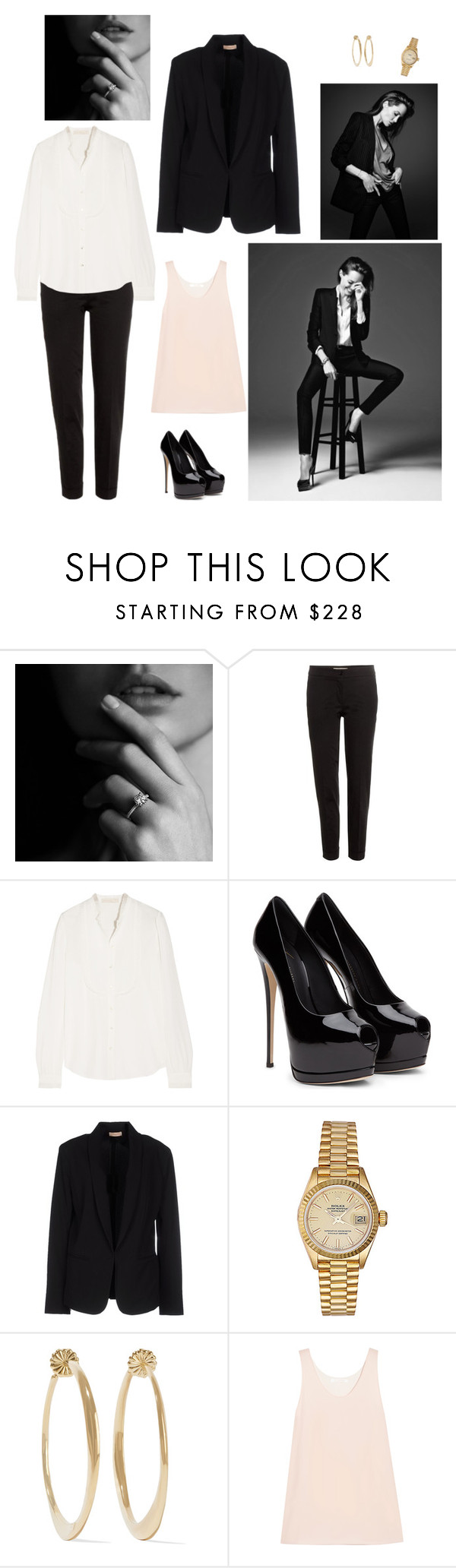"""""""Untitled #24"""" by khalitovagt-1 ❤ liked on Polyvore featuring Etro, Vanessa Bruno, Maesta, Rolex, Ippolita and Chloé"""