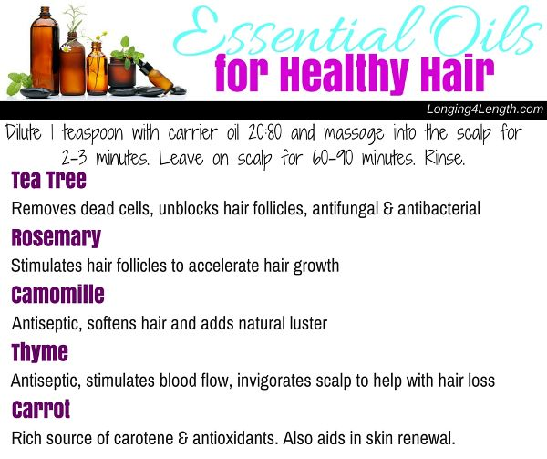Best Essential Oils For Hair Growth | Longing 4 Length