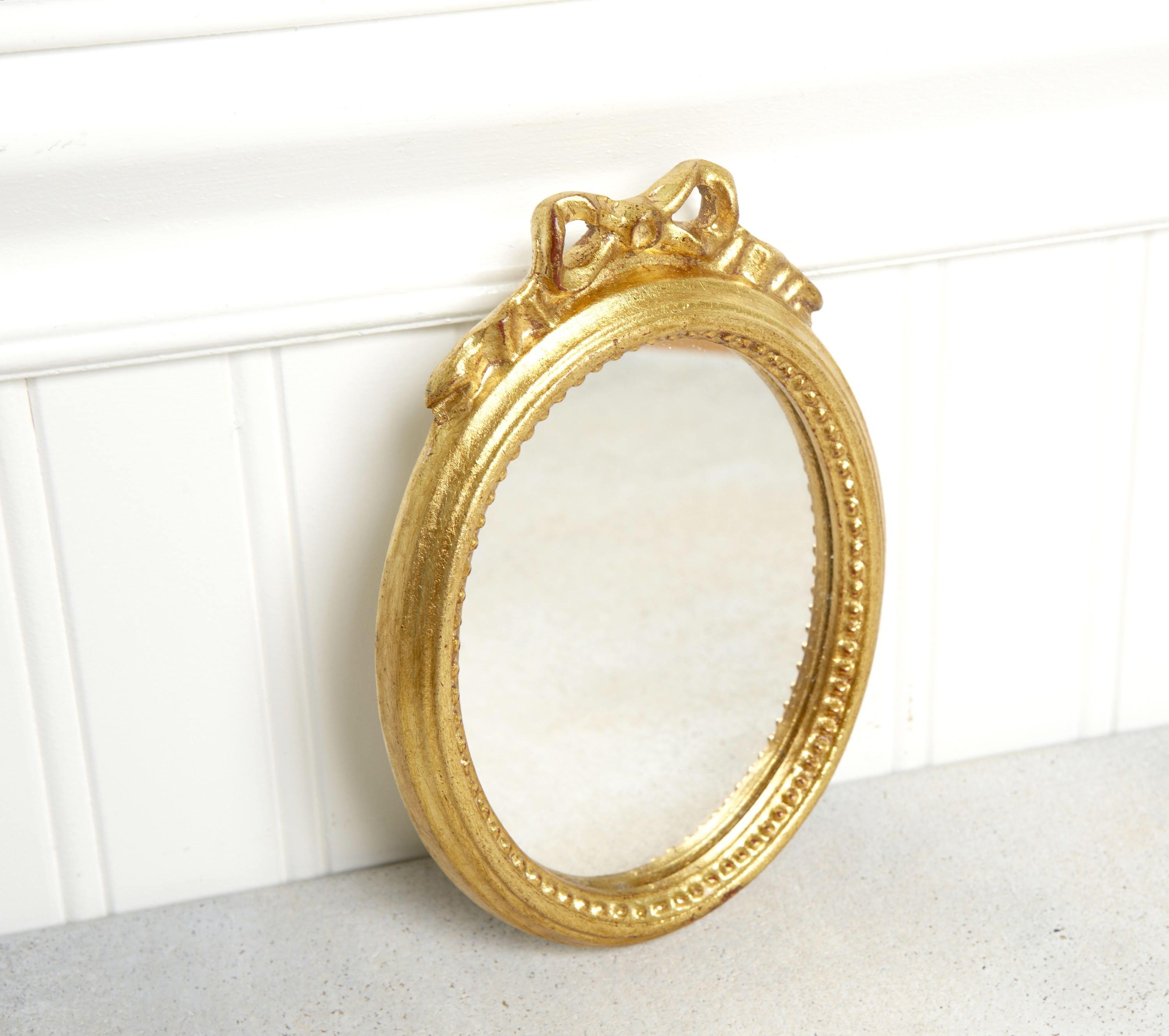 Vintage Antique MirrorVanity MirrorSmall Italian
