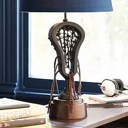 Lacrosse Trophy Lamp Base Lacrosse Lamp Lacrosse Room