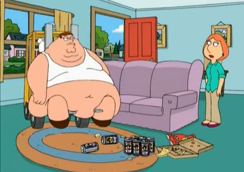 family guy stewie gets fat
