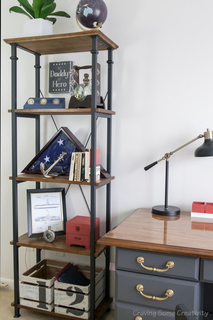 Photo of One Room Challenge – Masculine Office Reveal