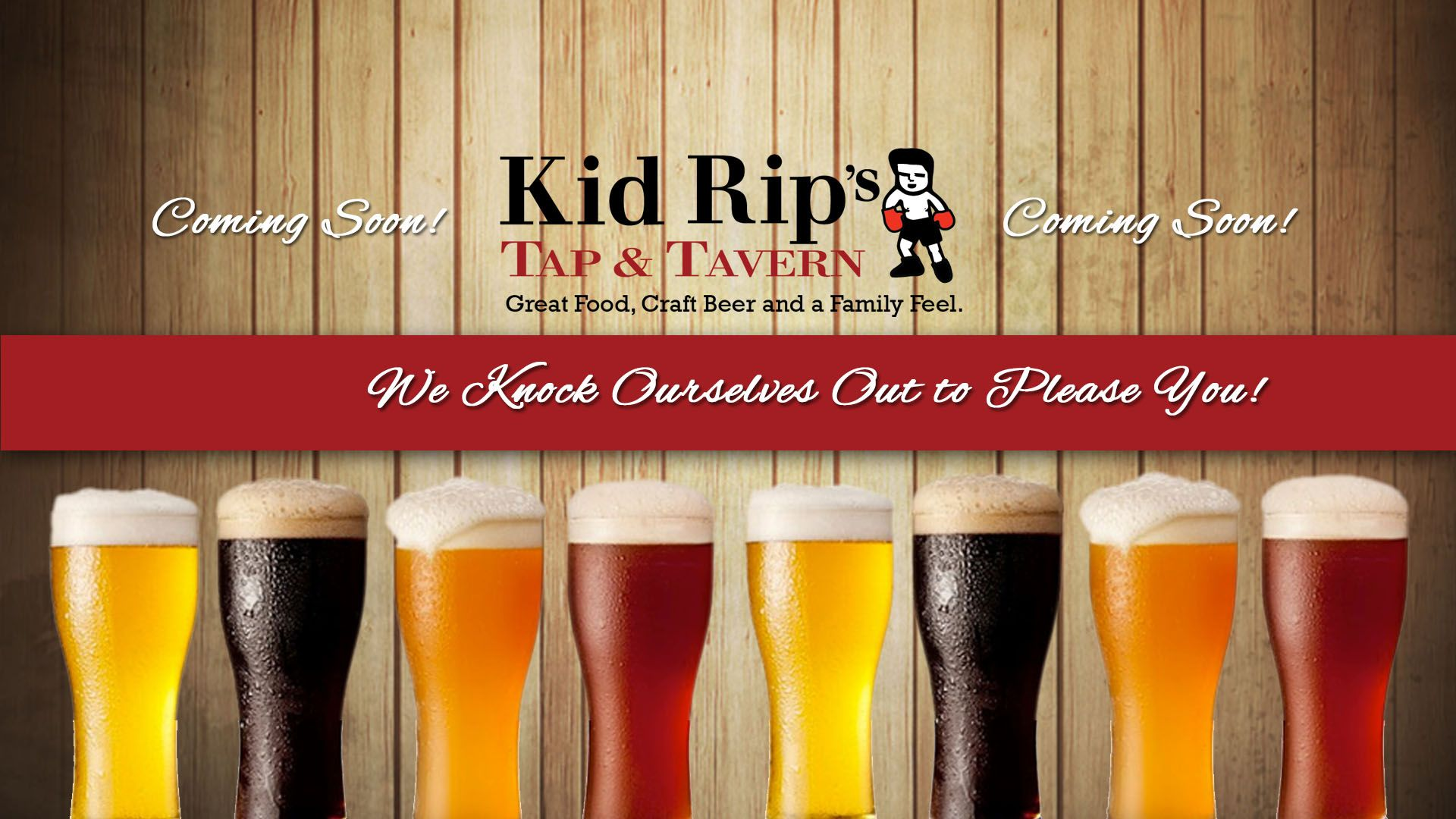 Kid Rips Kid Rip S Tap Tavern Craft Beer Tavern Kids