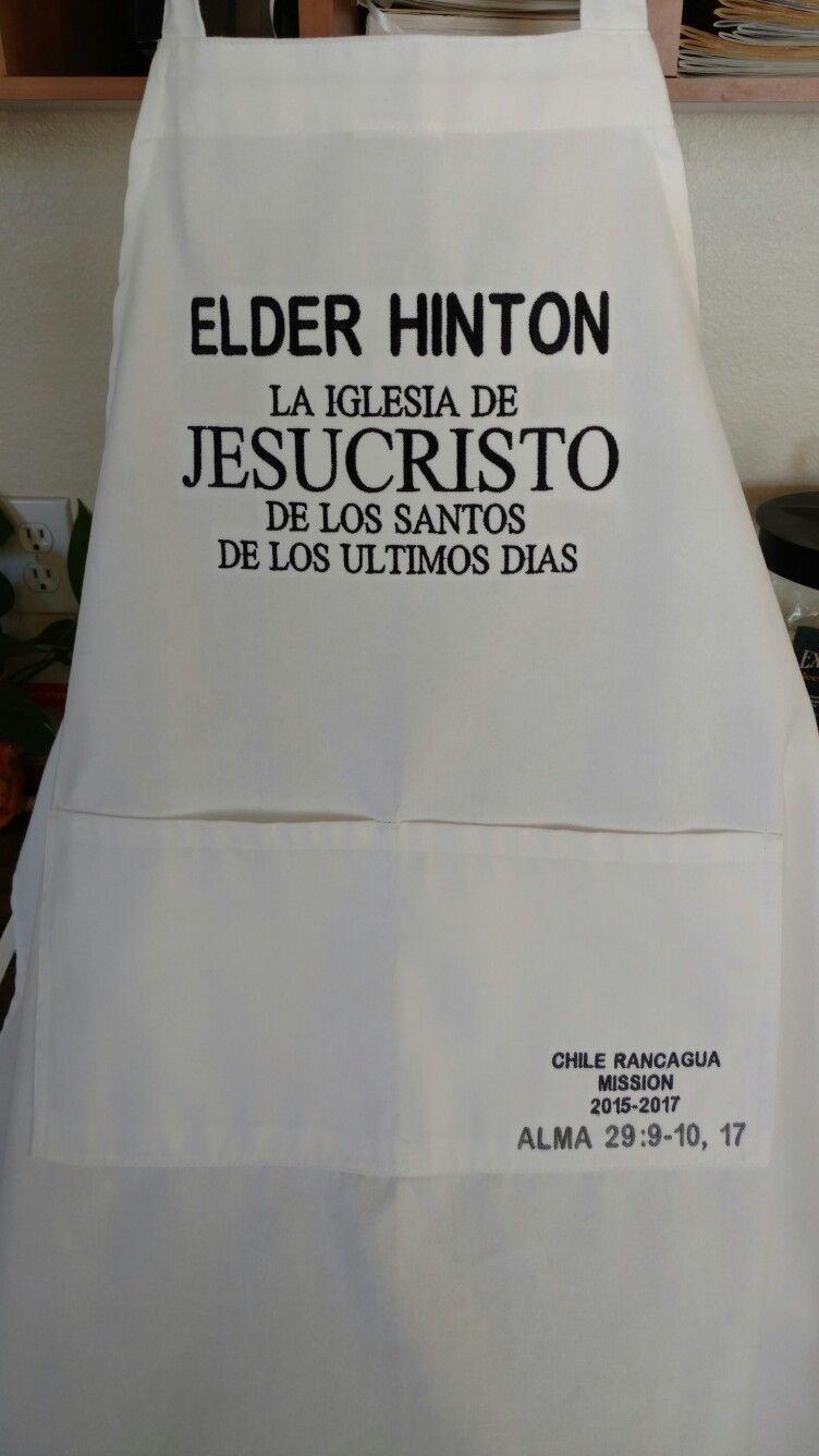 LDS missionary apron 091816