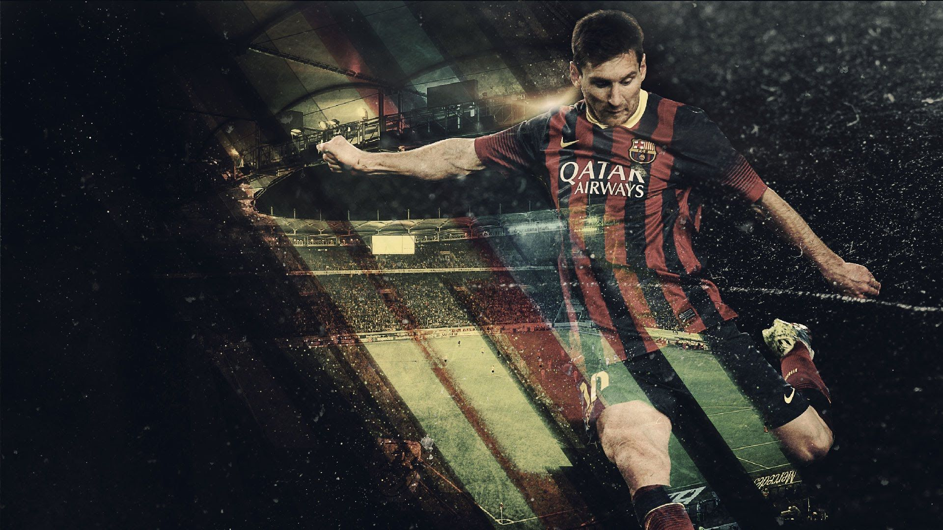 photoshop tutorial how to create a football sport event poster