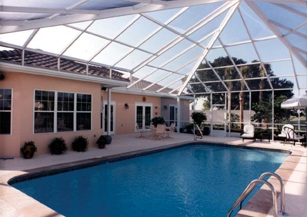 The Most Popular Type Of Pool Enclosure Is Likely The Pool Enclosures Canada This Will Be Much More Cost Effectu Pool Enclosures Swimming Pool Enclosures Pool