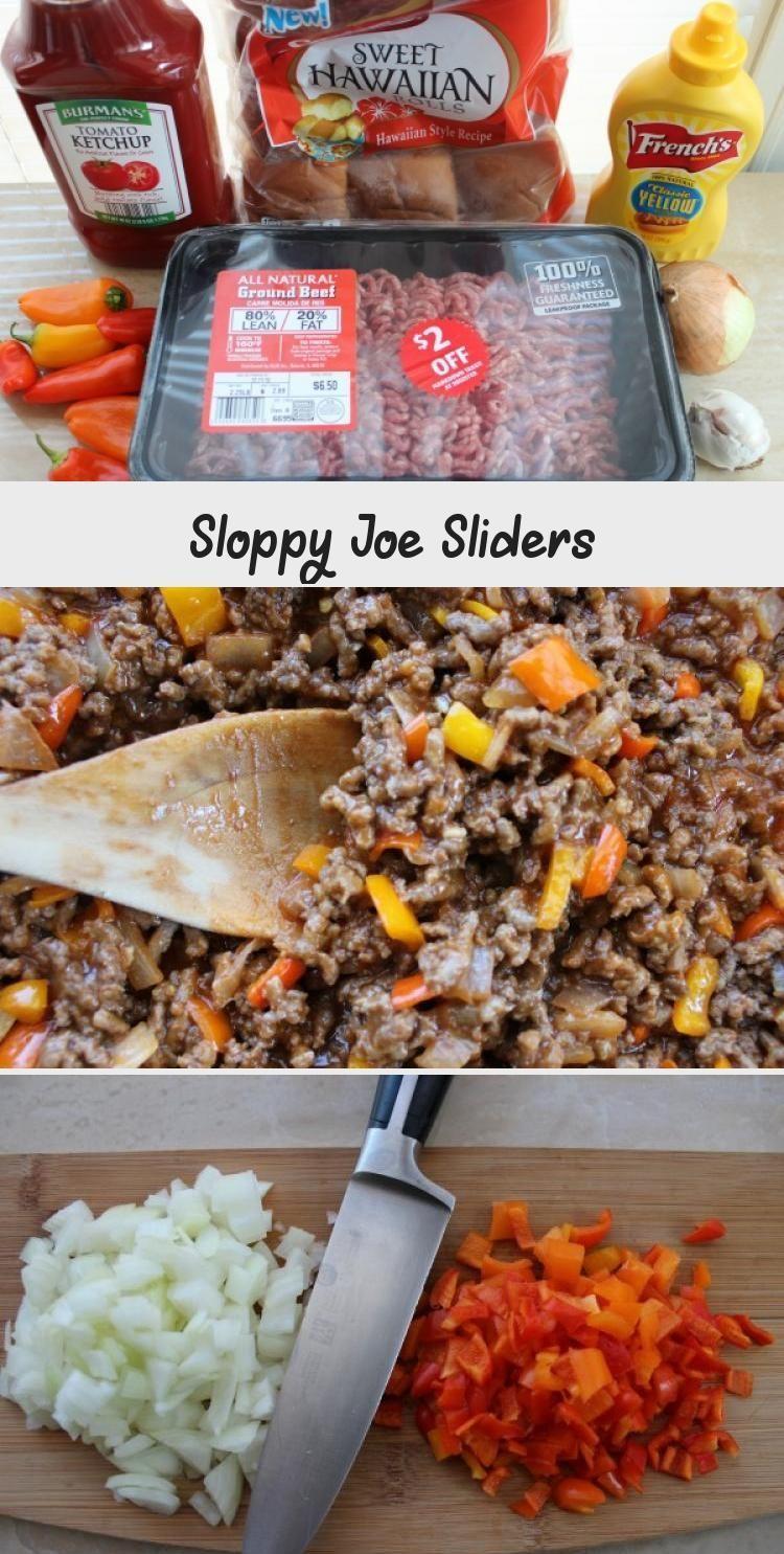 Sloppy Joe Sliders #homemadesloppyjoes Sloppy Joe Sliders- Perfect for New Years, Super Bowl or ANY time! #recipenewyear #homemadesloppyjoes