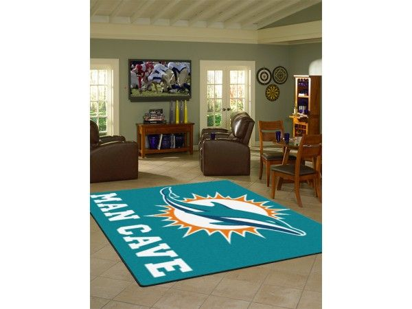 Miami Dolphins Nfl Sports Rugs
