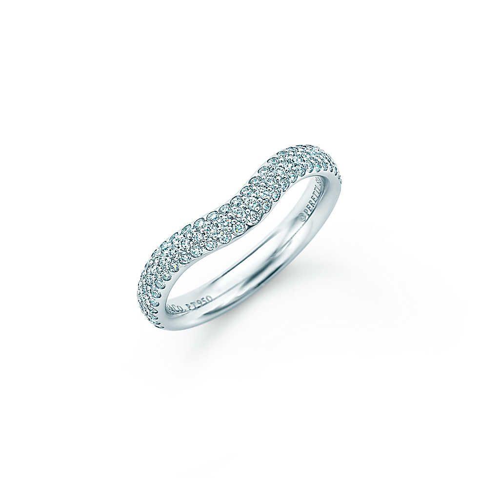 Tiffanyus princess cut vintage wedding engagement rings new york