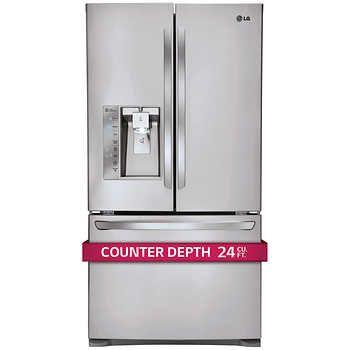 Lg 24cuft 3 Door French Door Ultra Capacity Counter Depth