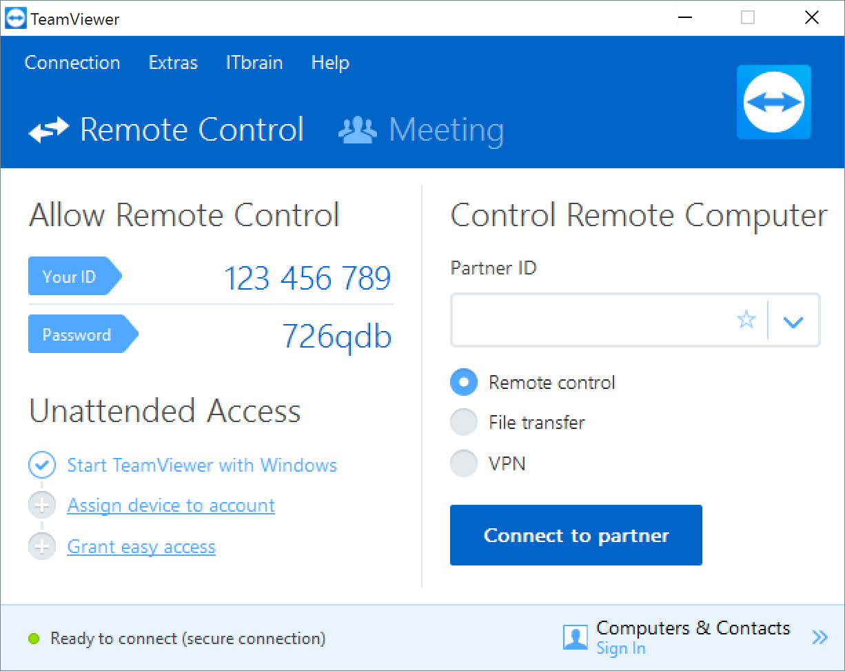 How To Use Teamviewer In 2020 Software Update Computer Remote Control