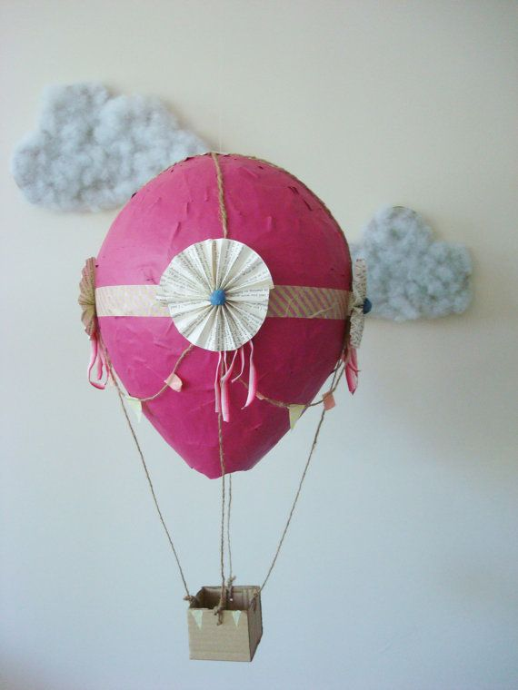 Wanna Make These With The Kids Paper Mache Hot Air