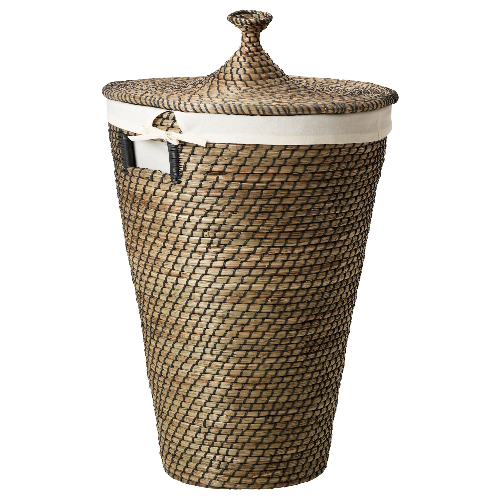 Wasmand Zeegras Åsunden Seagrass Laundry Basket Ikea Bathroom With
