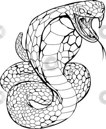 Viper Tattoo Symbolizes Justice Tattoos Snake Coloring Pages