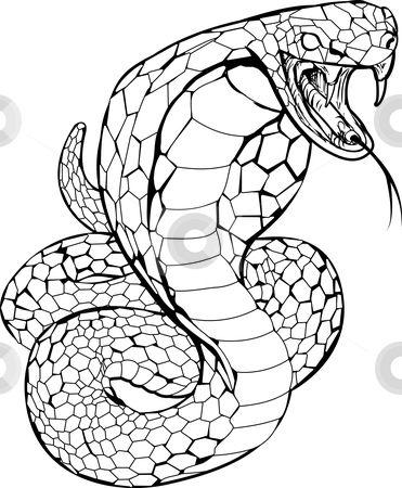 Viper Tattoo Symbolizes Justice Idees De Tatouages Dessin