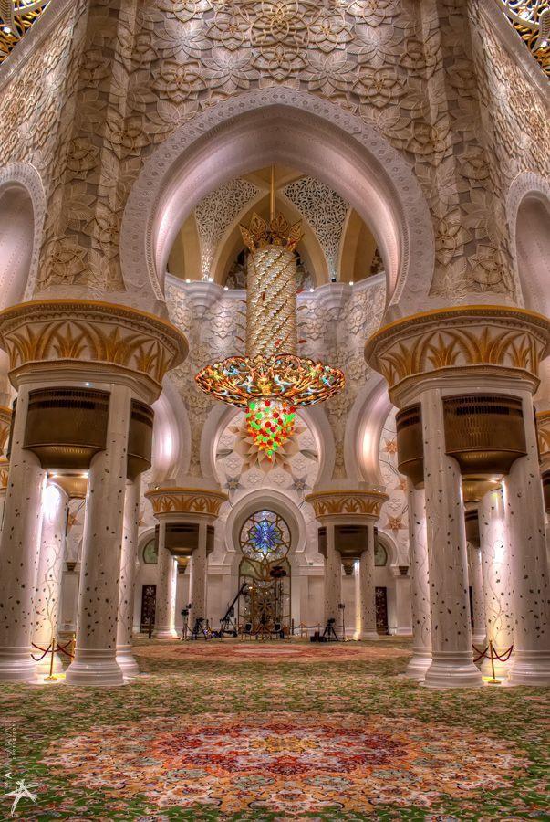 Sheikh Zayed Grand Mosque, Abu Dhabi, United Arab Emirates: