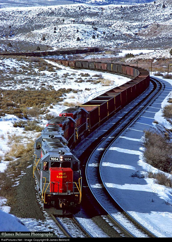 Photo UP 9004 Utah Railway Company EMD