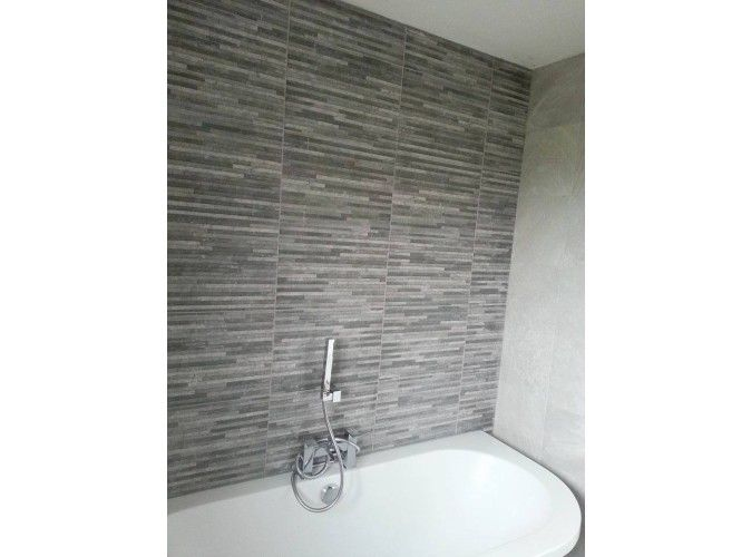 Brix Stratum Anthracite Wall Tile Roomset Bathroom Pinterest