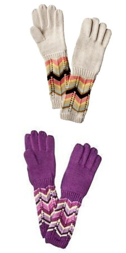 2a7538bf0b07 Gloves and Mittens 57919  Missoni For Target Girls Kids Zigzag 2 ...