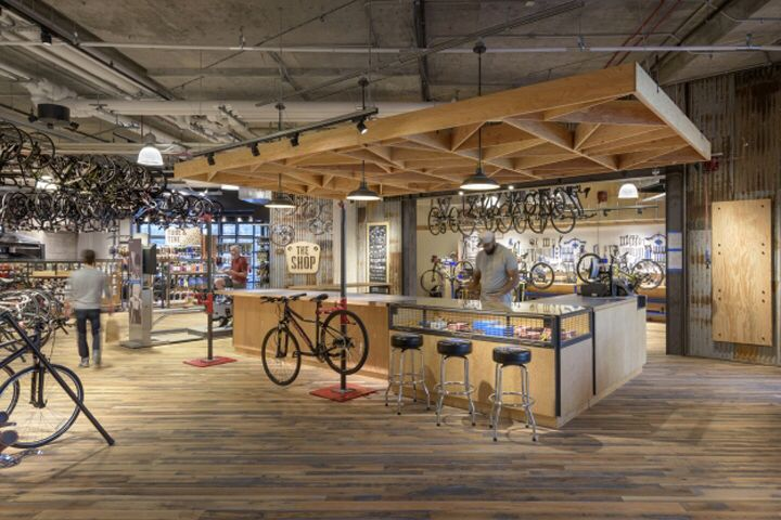 Rei Flagship Store By Callisonrtkl Washington D C Usa Retail Interior Design Retail Design Retail Store Design