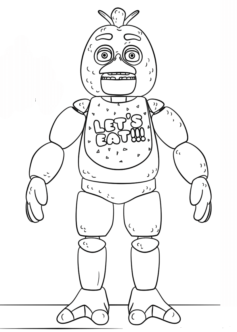 Free Printable Five Nights At Freddy S Fnaf Coloring Pages Fnaf Coloring Pages Super Coloring Pages Coloring Books