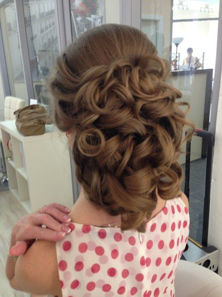 Curly Lush Hairstyle Hair Styles Hairstyle Long Hair Styles