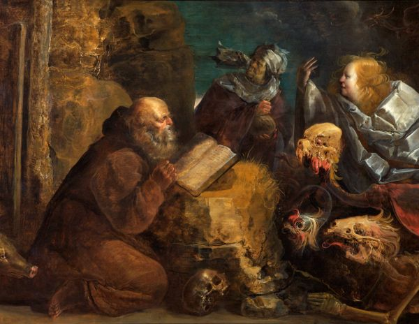 The Temptation Of St Anthony C1616before 1651 Jan Van Der Venne