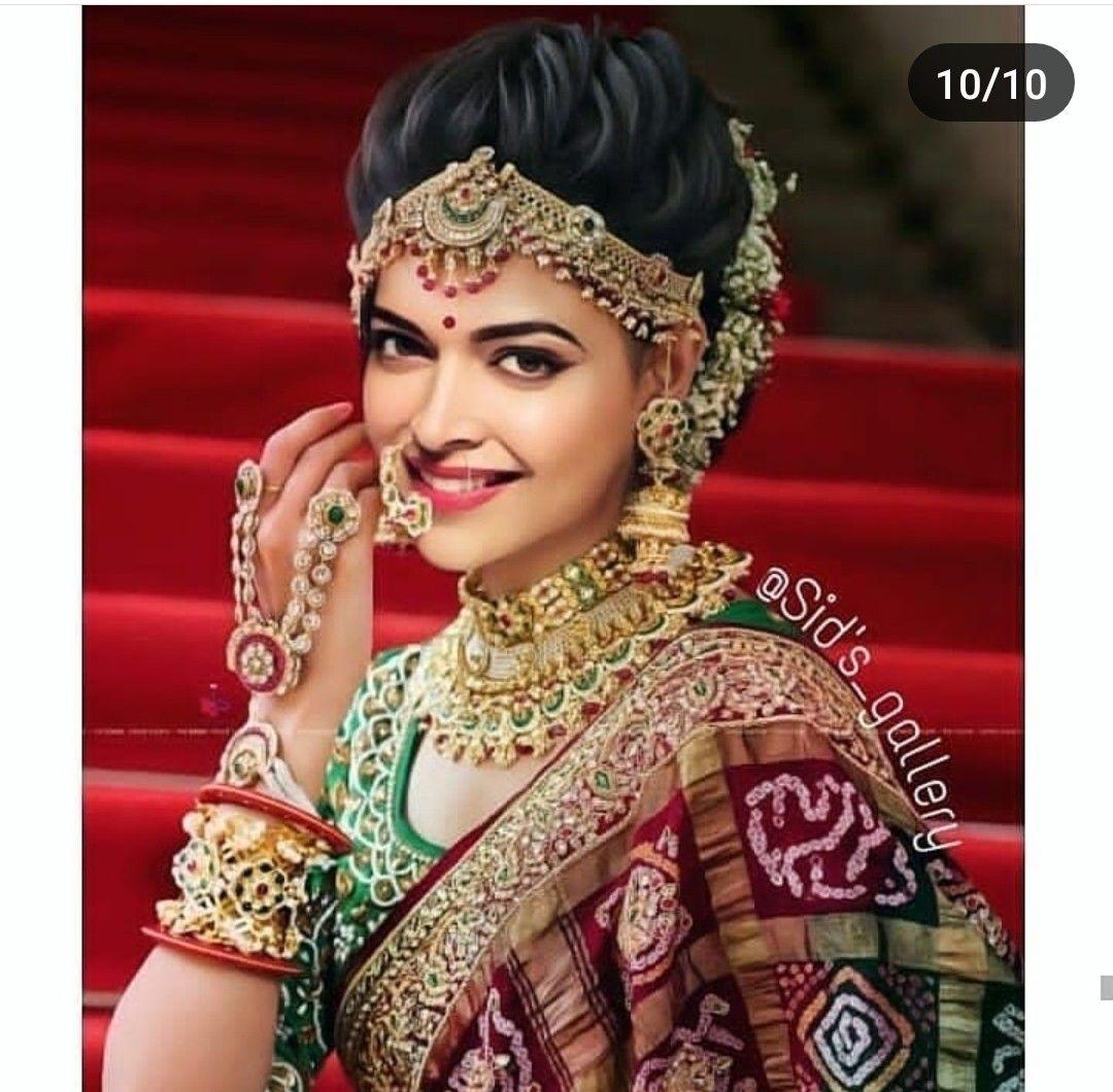 Pin By Divya On Deepika Padukone Indian Wedding Makeup Indian Bridal Hairstyles Indian Bridal Makeup