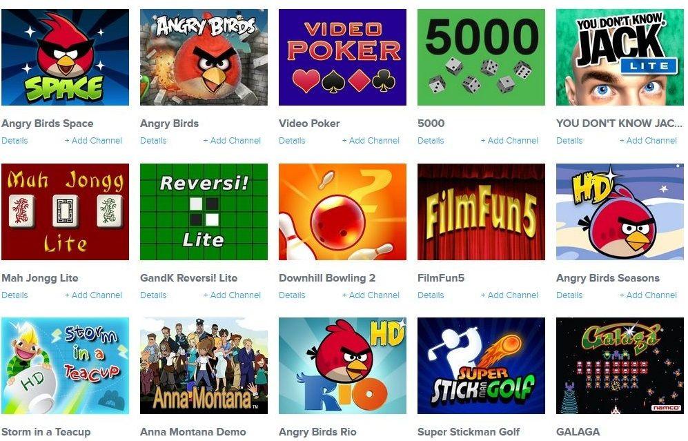 Игры на интернет-приставке Roku Express