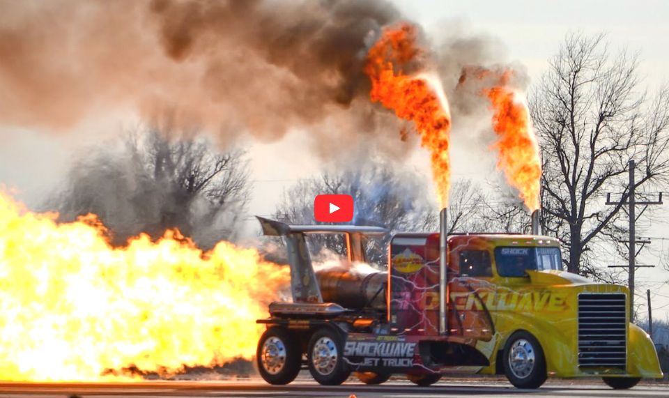 Jet Powered Tractor Trailer