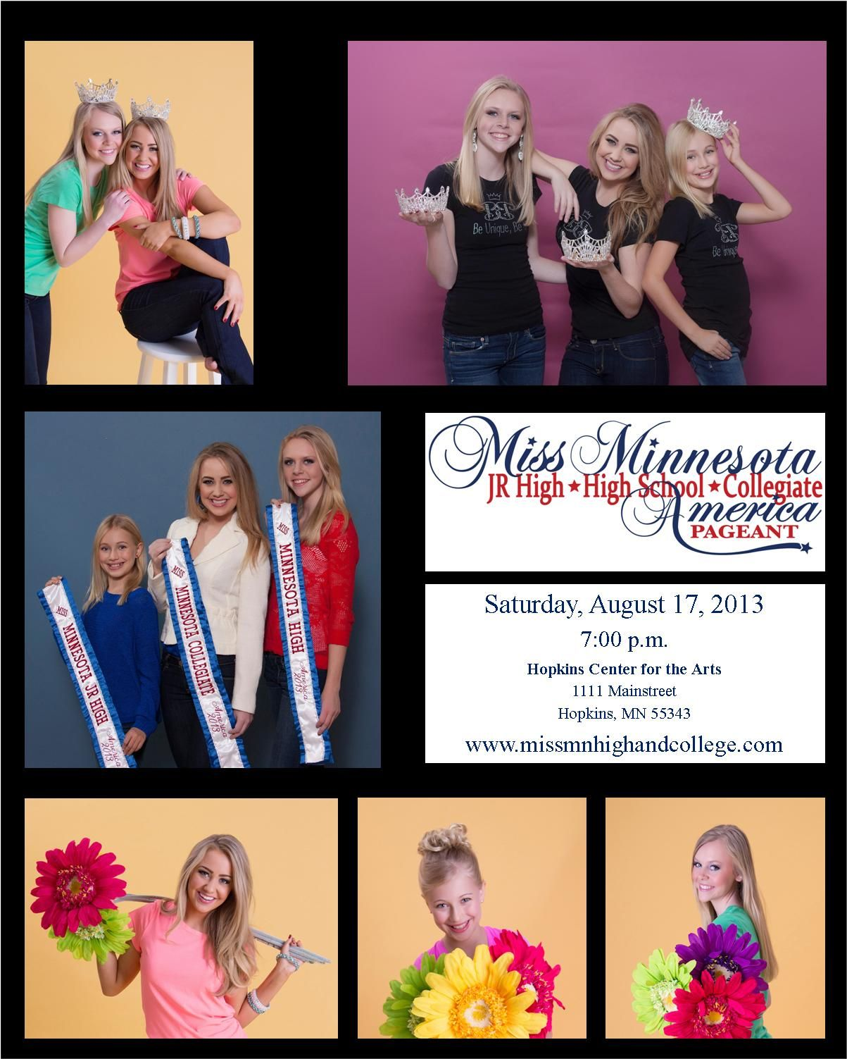 pageant beauty crown Minnesota Collegiate High