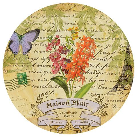 "Maison Blanc Large Paper Plates, 9"", 18-ct. packs"
