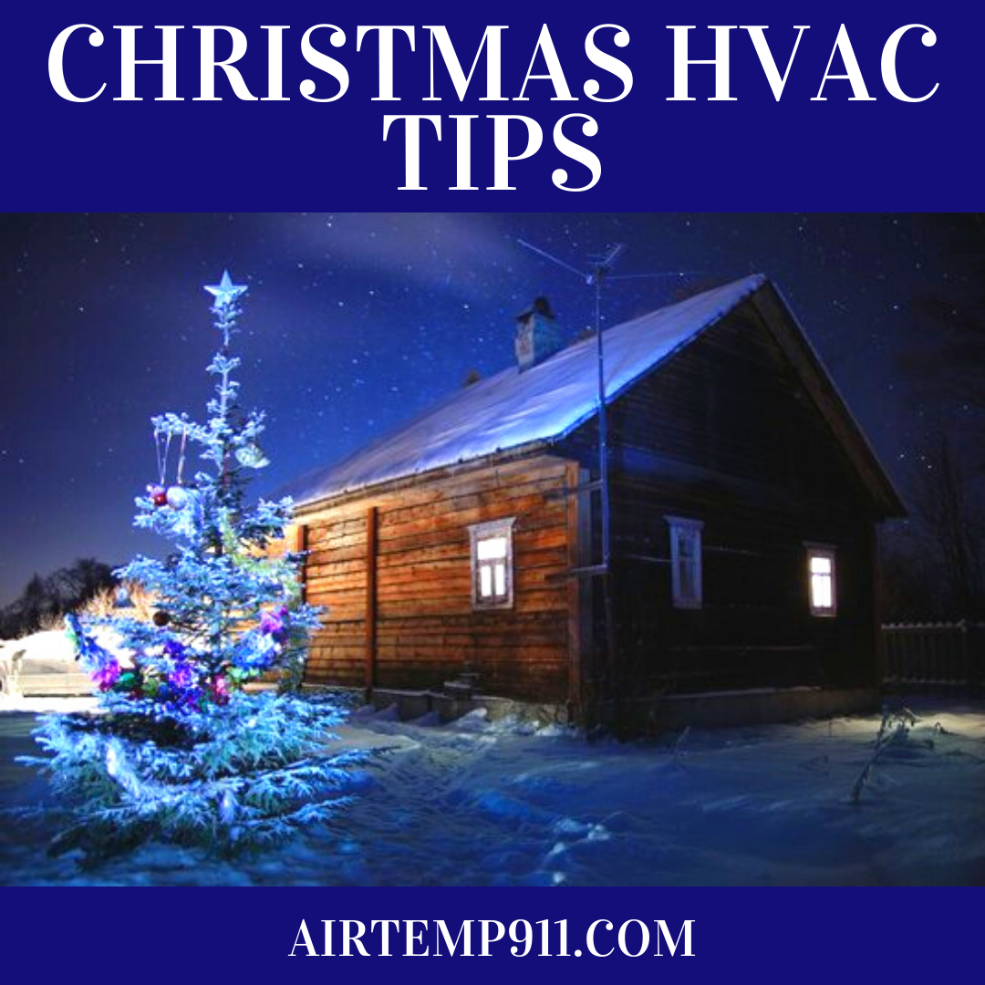 Christmas HVAC Tips (With images) Hvac, Clean air