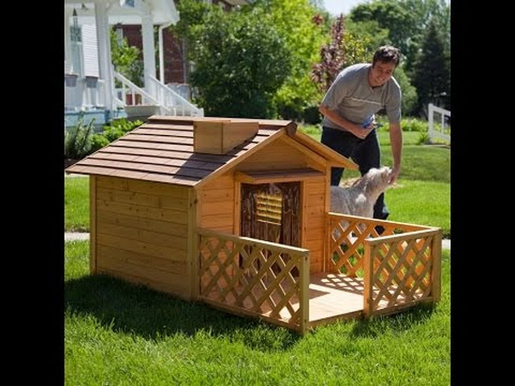 30+ Dog House Ideas For Your Loving Pet