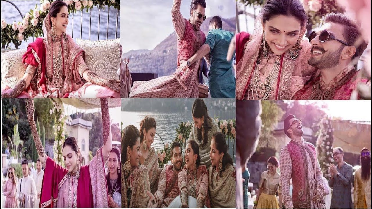All Pics And Video Ranveer Singh And Deepika Padukone Complete Marriage Ranveer Singh Deepika Padukone Marriage Package