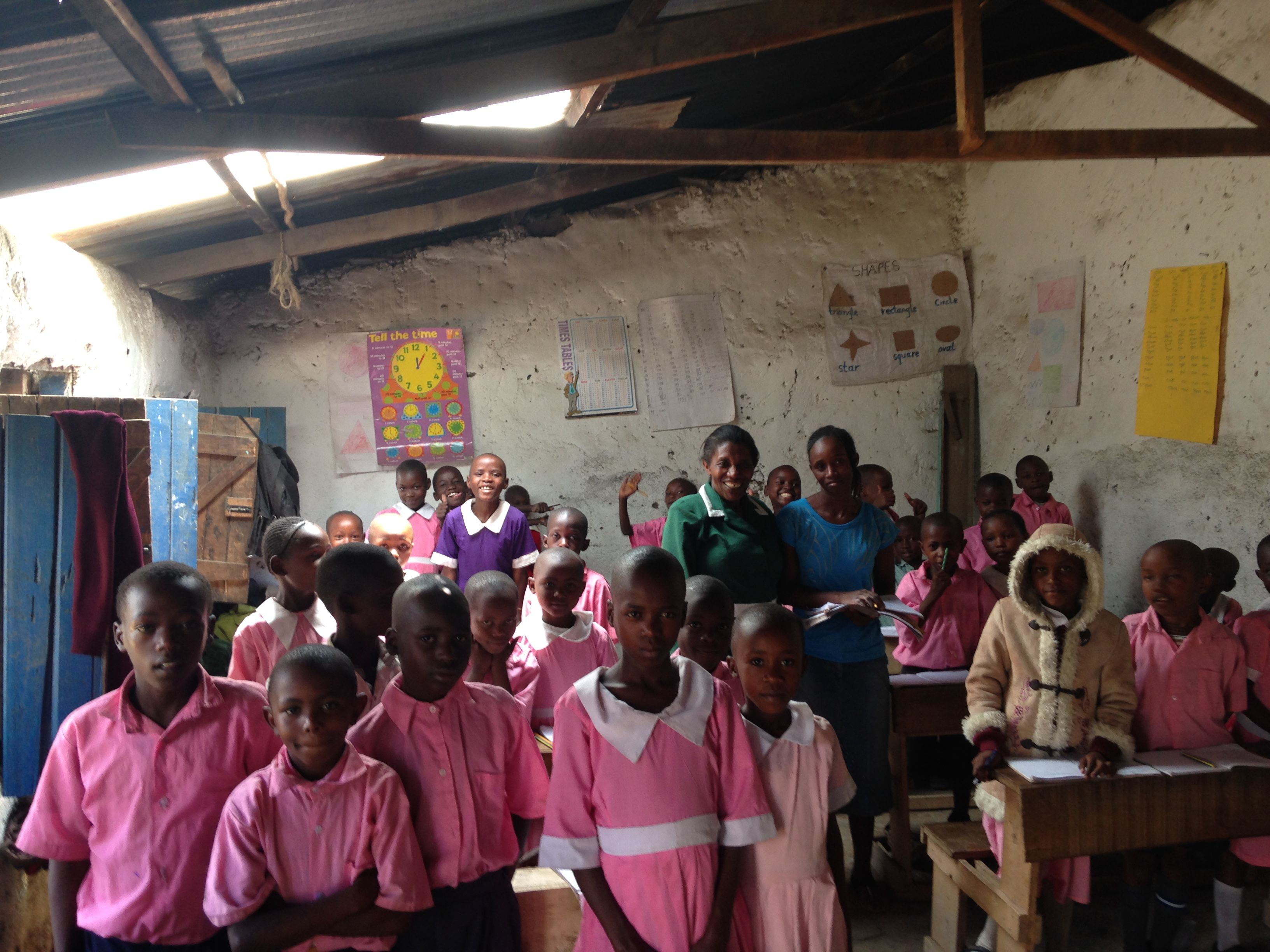Ronaken class February 2015 Volunteer, Kenya, Development