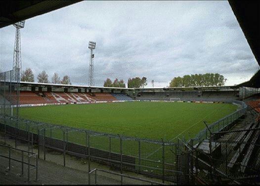De Meer Stadion Ajax Amsterdam In The 1970s Old Stadium Pics