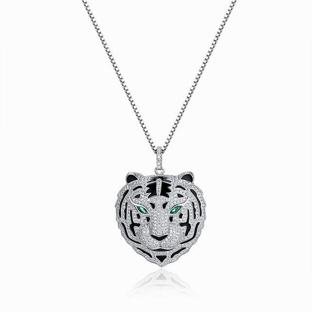 Cartier diamond tiger pendant necklace cartier pinterest cartier diamond tiger pendant necklace mozeypictures Image collections