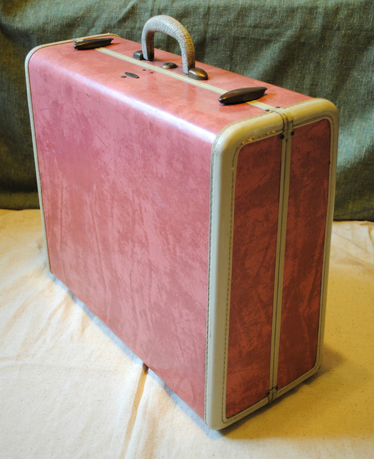 Vintage Luggage Samsonite Early 1950s Shwayder Bros. Rose Pink ...