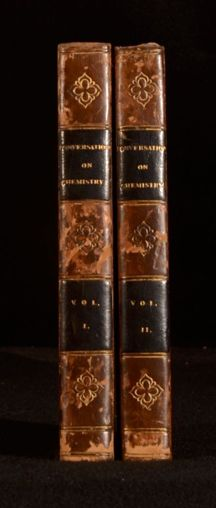 Conversations on Chemistry by Jane Marcet -- 1822, Eighth Edition (2 Volumes)