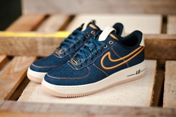 Nike Air Force 1 Premium Denim   Nike