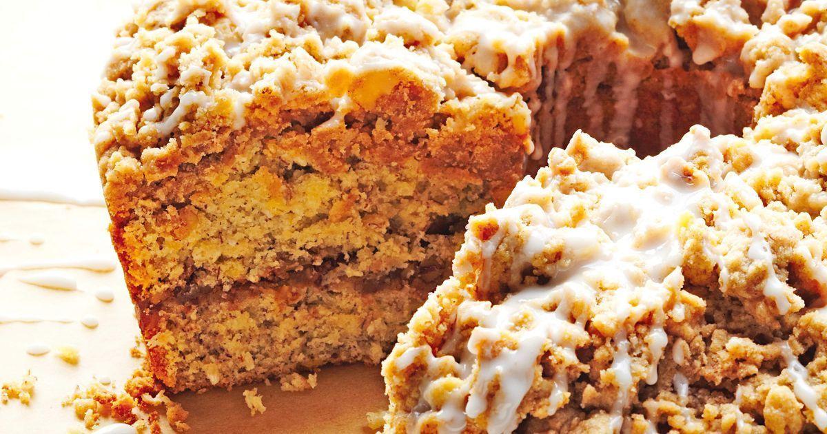 Martha S Banana And Coconut Streusel Coffee Cake Recipe In 2020 Coffee Cake Recipes Cinnamon Streusel Coffee Cake Streusel Coffee Cake